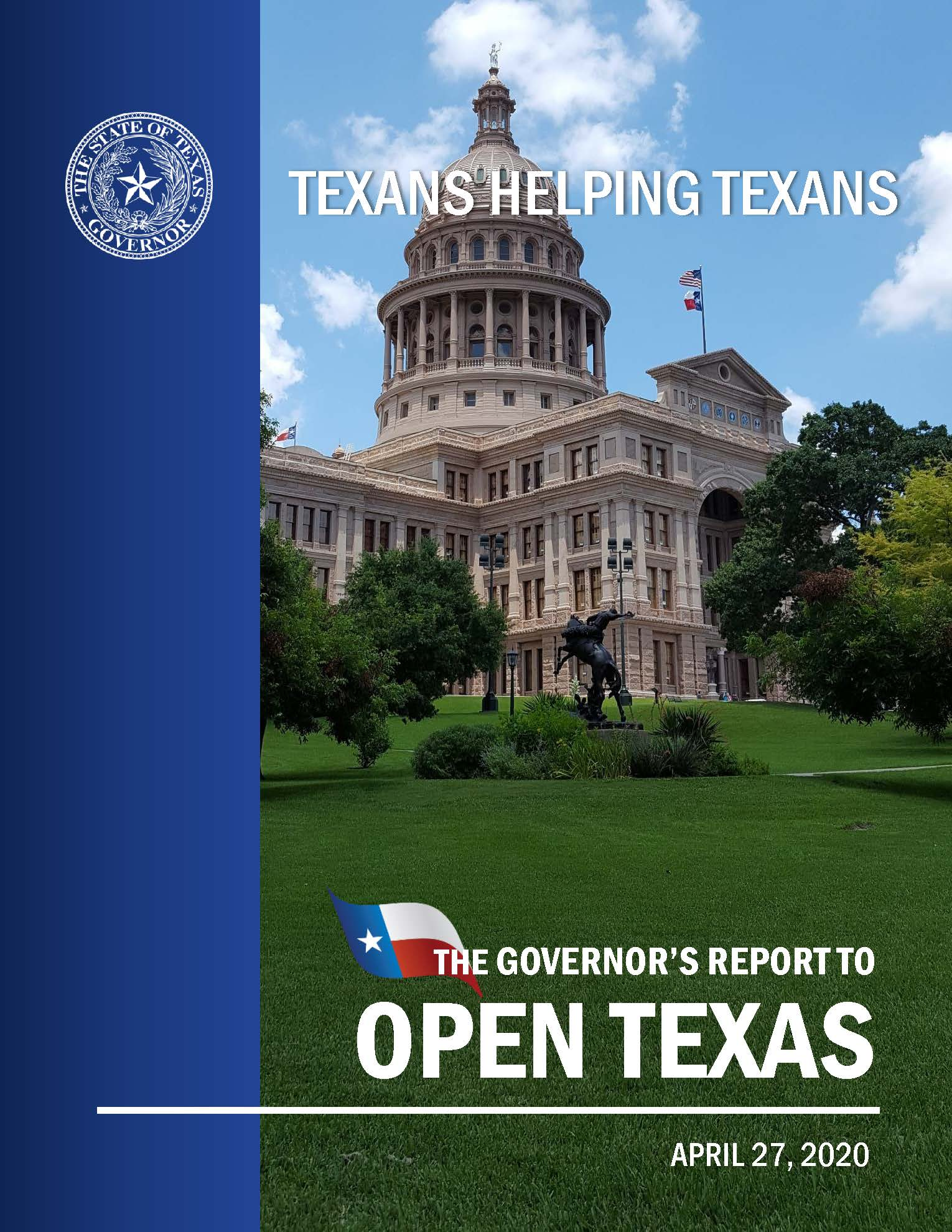 OpenTexas-Report Opens in new window